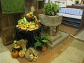 The Church decorated for Harvest Festival
