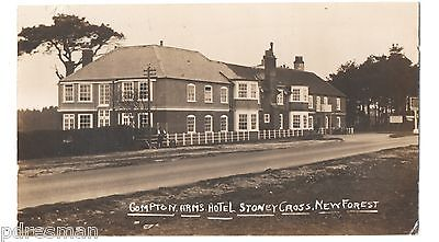 COMPTON-ARMS-HOTEL-STONEY-CROSS-NEW-FOREST-VINTAGE