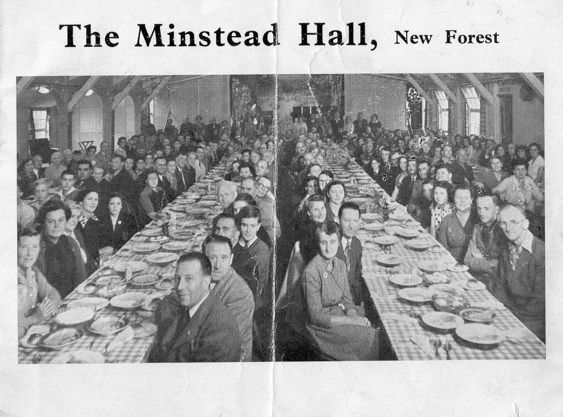 Old Hall Leaflet