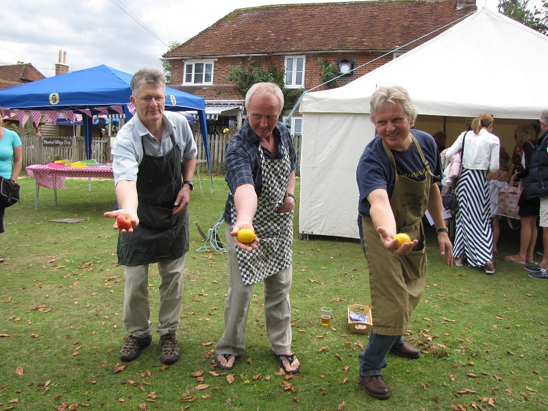 The Human Fruit Machine - Minstead 2014 Village Fete