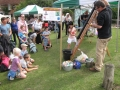 Ratus (Splat the Rat) in action - Minstead 2014 Village Fete