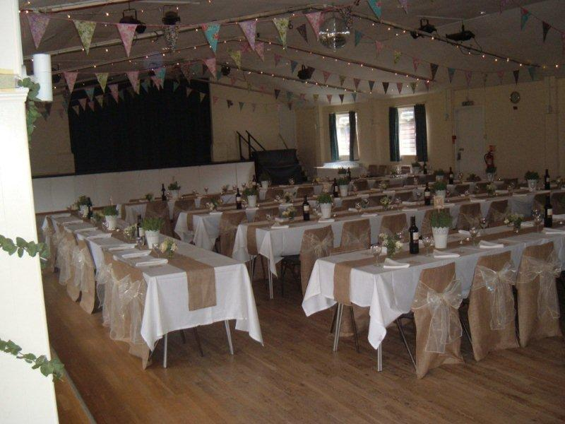 Minstead Village Hall Wedding