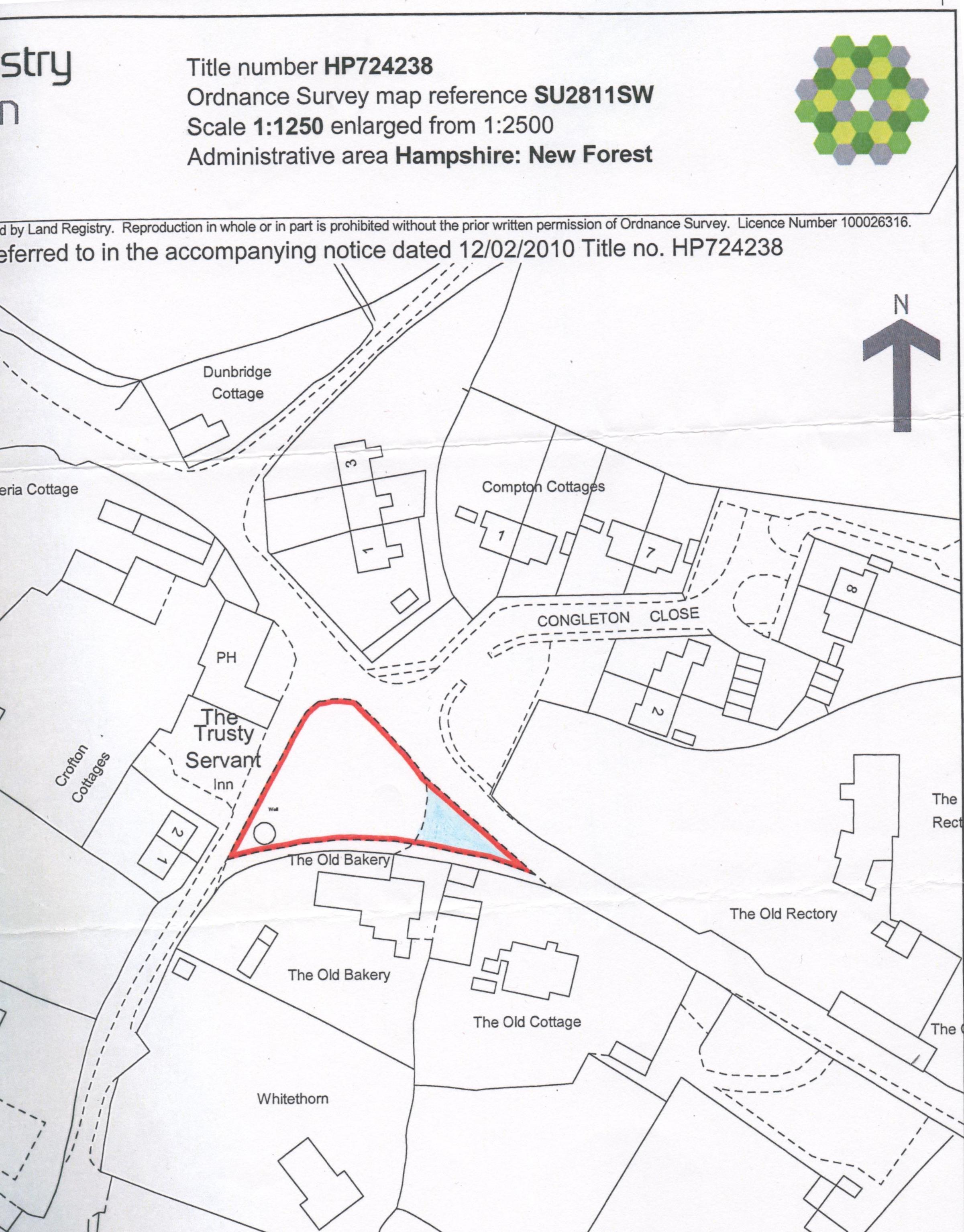 Land owned by PC - Village Green