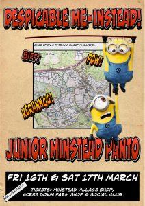 JM Panto 2018 Poster
