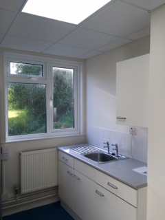 Minstead Village Hall Danby Room Kitchen