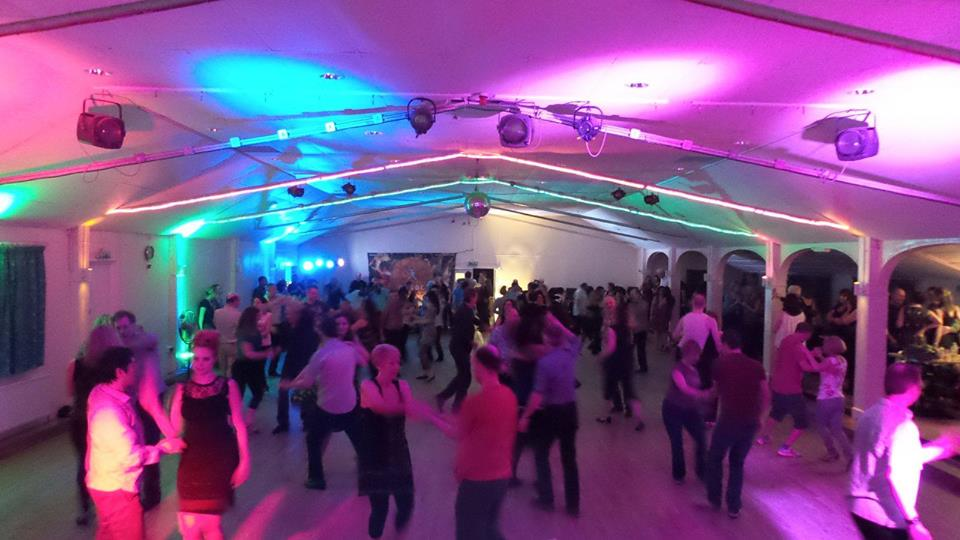 A Disco at Minstead Village Hall